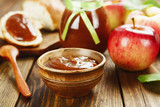 Fresh apple jam