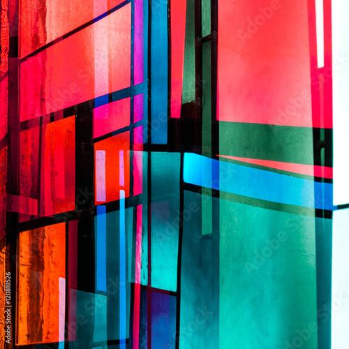 Fenster abstrakt