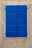 Mediterranean wooden window - 120829971