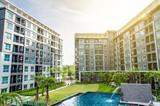 apartment building  liveing zone