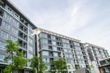 modern apartment building ,