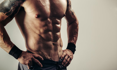 Perfect abdominal muscles