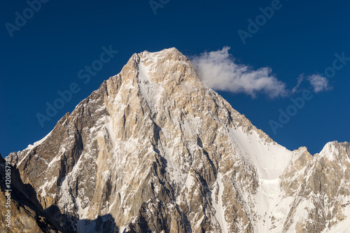 Foto op Canvas Europa Gasherbrum 4 mountain peak, K2trek