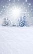 Verschneiter Weihnachtshintergrund