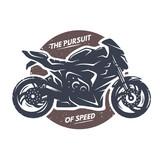 Fototapety Sport superbike motorcycle emblem.