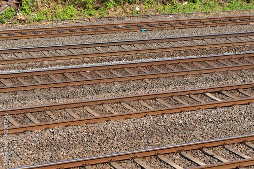 Poster Eine Bahnstrecke