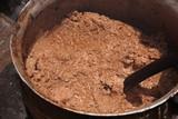 Making of sheabutter Mubanayili Ghana