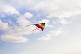 空を飛ぶカイト