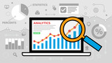 Website Analytics Illustration