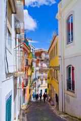 Lisbonne, ruelle du bairro alto, Portugal  © aterrom