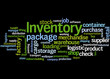 Постер, плакат: Inventory word cloud concept 3