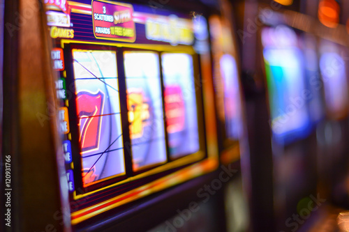 Slot machines and gambling addiction in Las Vegas  Poster