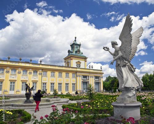 castillo-y-jardin-de-wilanow-varsovia-polonia