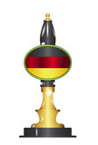 German Flag Beer Pump