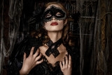 vintage vimpire woman