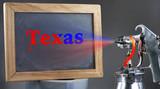 Spray Painting Texas.