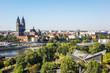 Leinwanddruck Bild - Magdeburg - Aussicht