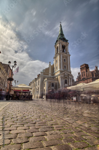 Toruń - Stary Rynek - Kościół Ducha Świętego