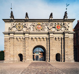 The Upland Gate in Gdansk, Poland