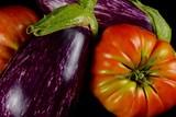 Tomate y berenjena