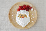 Fun homemade santa pancake breakfast for kids
