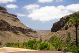 Canyons of the island of Gran Canaria