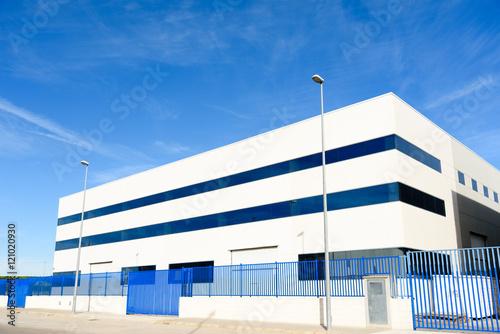 Foto Murales Exterior  industrial warehouse