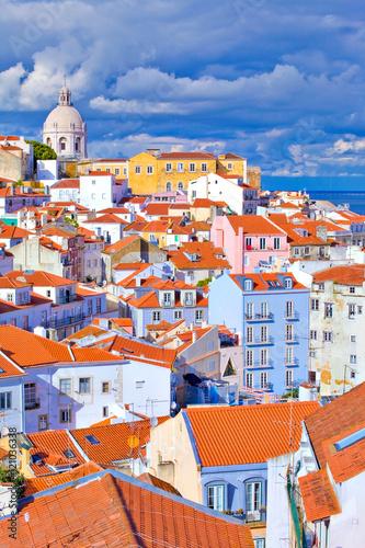 Lisbonne, quartier de l'Alfama, panthéon national