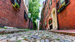 Acorn Street - Boston, Massachusetts