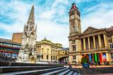 Chamberlain Square in Birmingham, UK
