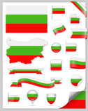 Bulgaria Flag Set - Vector Collection