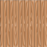 Vector brown background - wooden slat floor, planks, laths, boards wallpaper