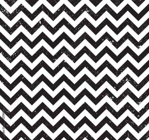 Zig zag background, seamless pattern. Grunge design, vector illustration EPS 10