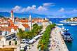 Leinwanddruck Bild - Trogir, Split, Dalmatia region of Croatia