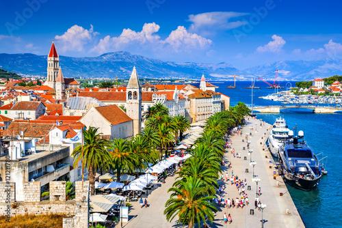 Leinwanddruck Bild Trogir, Split, Dalmatia region of Croatia