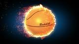 Баскетбол, мяч сгорает