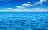 Błękitna woda morska