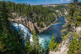 Fototapety Upper falls of Yellowstone Canyon