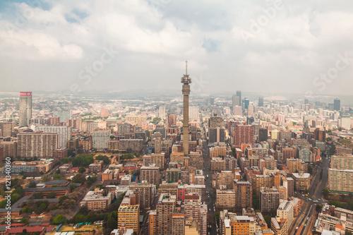Poster Oceanië Hillbrow Tower - Johannesburg, South Africa