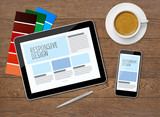 Responsive design on mobile devices