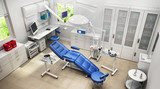 Modern medical room