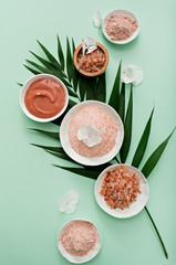 aromatherapy theme , handmade cosmetic. flat lay © pauchi