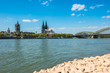 Köln Rheinblick