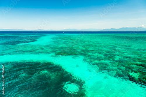 Papiers peints Vert corail Green Island in Cairns, Queensland, Australia