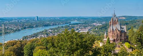 Schloss Drachenburg Bonn Panorama - 121380989