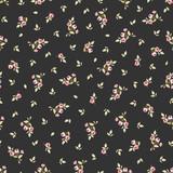 Seamless floral pattern with little red roses - 121400902