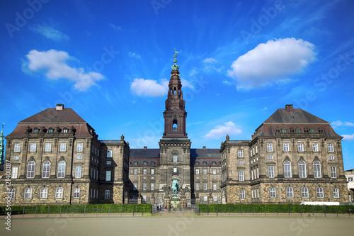 Poster Christiansborg Palace in Copenhagen, Denmark