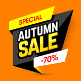 Special Autumn Sale banner