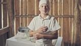 Young aspiring boy chef or baker