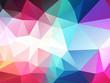 dark pastel color polygonal background